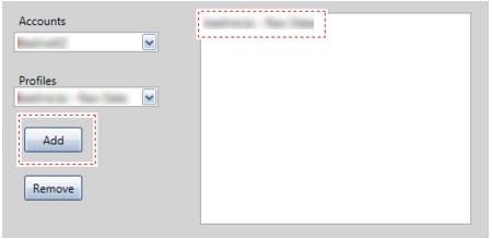 Нажмите Add для того, чтобы добавить нужное представление в список для возможного выбора данных