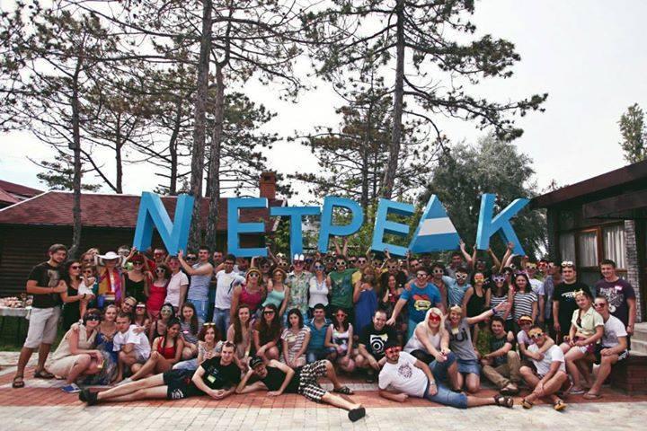 Дружная команда Netpeak.