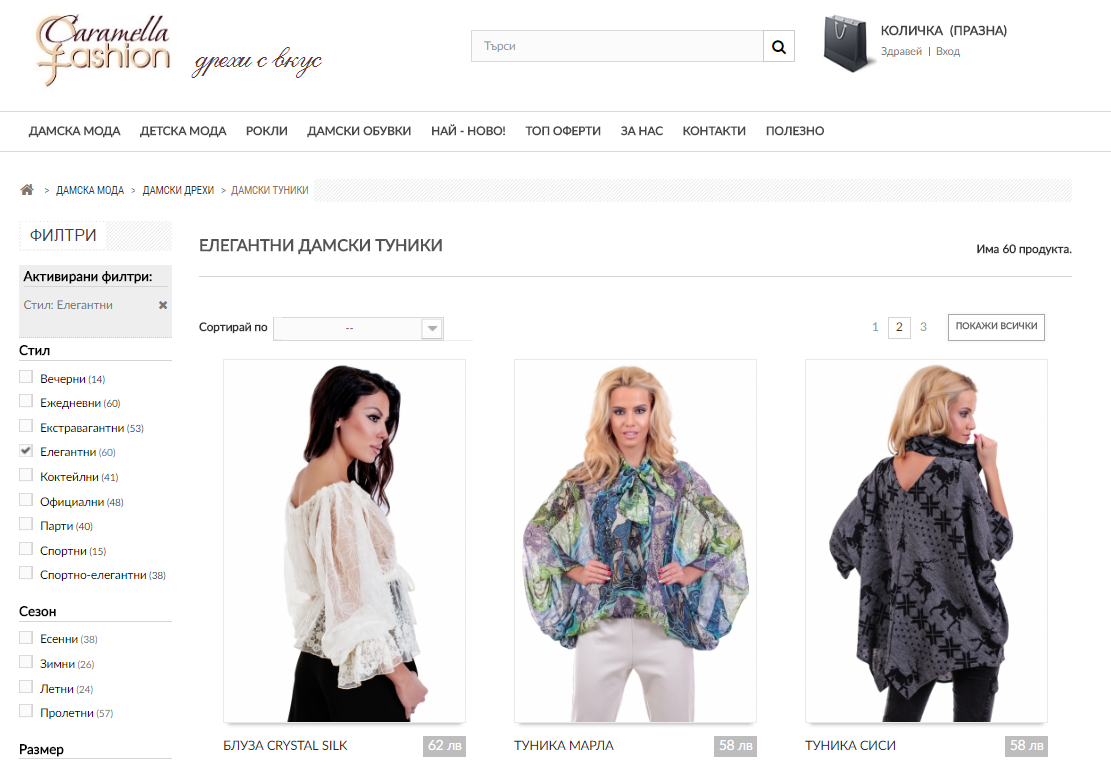 Модный кейс: SEO-продвижение caramella-online.com c ROI 1428%