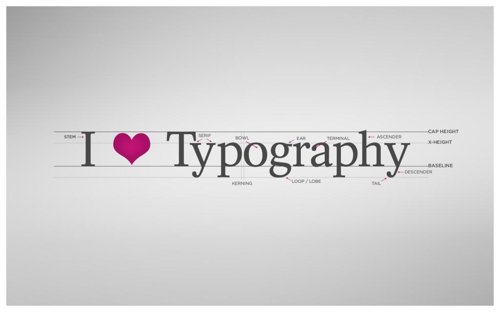We love typography :)