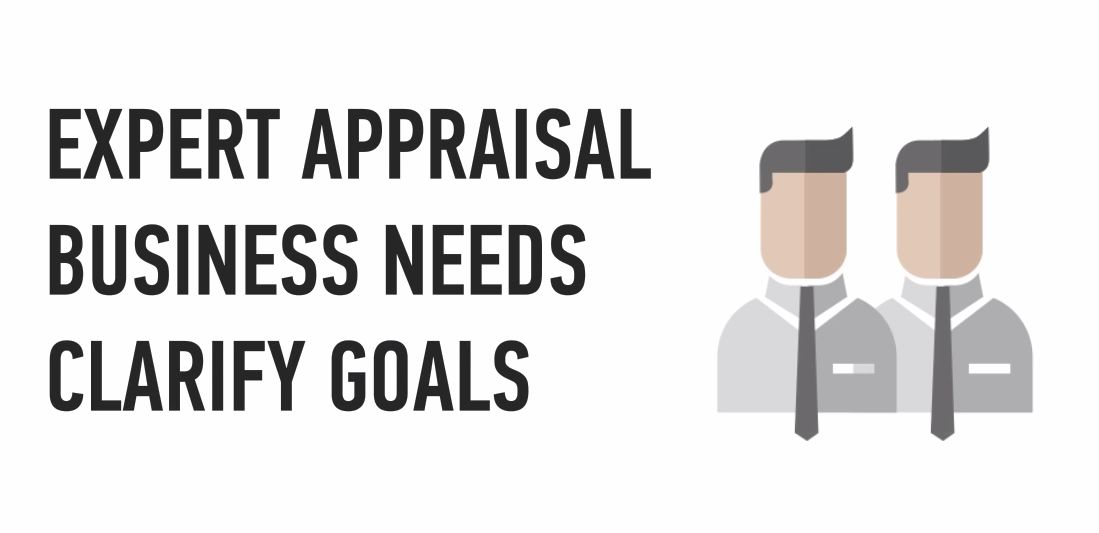 An experienced manager will provide you with expert appraisal, discuss your business needs with you and clarify your goals