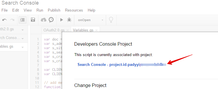 Enabloing </p> <p>Search Console API in Your Account