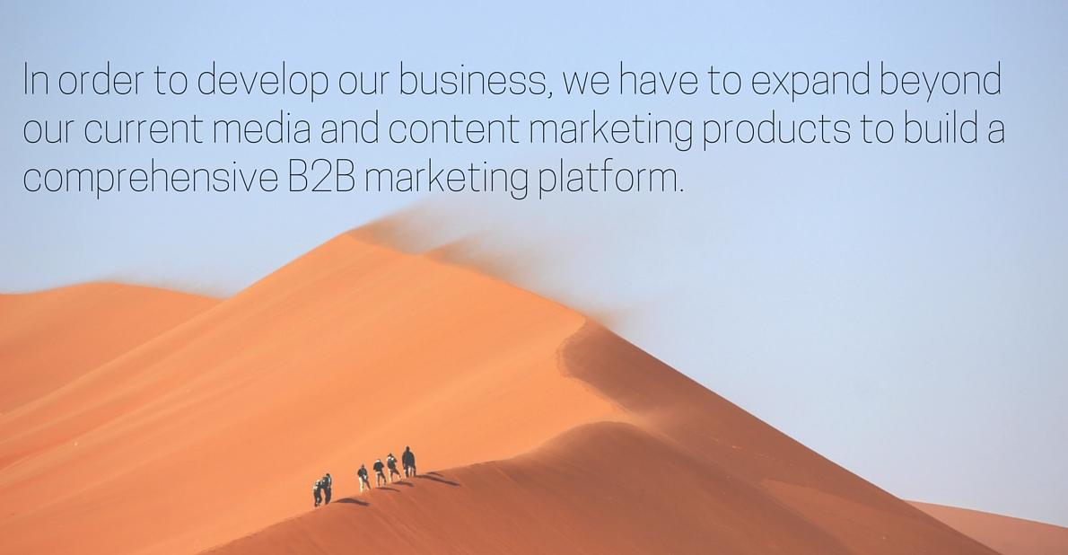 Creating a successful B2B marketing platform