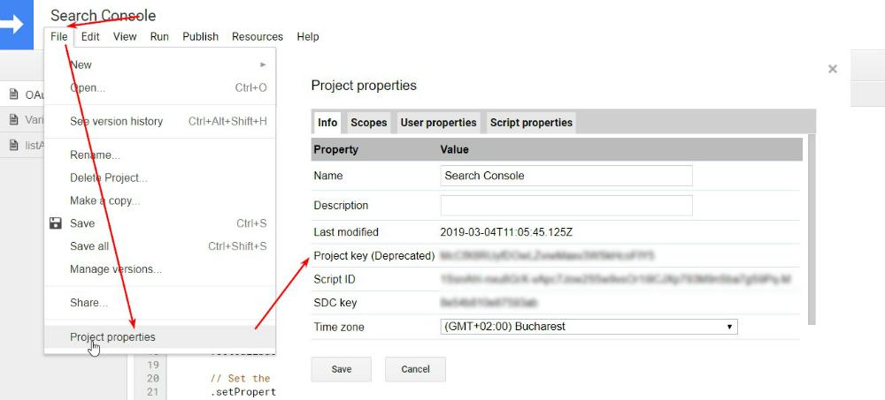 010 project properties