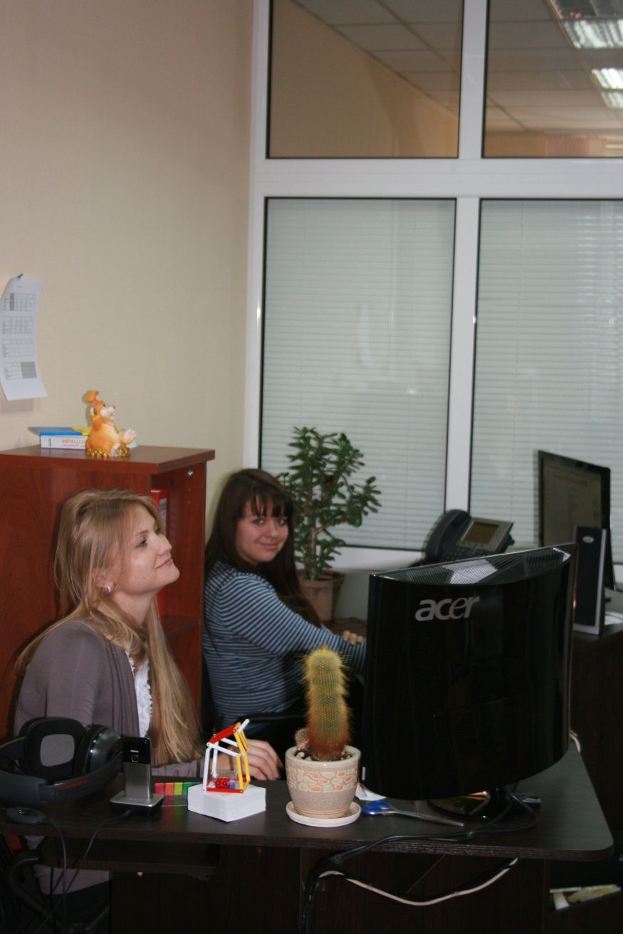Каждый, кто позвонит в Яндекс.Украина, поговорит с одной из этих милых барышень.