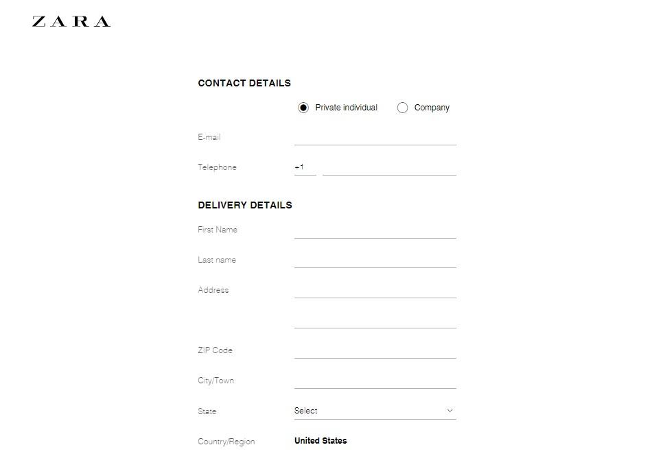 Изисквайте само необходимата информация — имена, адрес, телефон и e-mail са напълно достатъчни