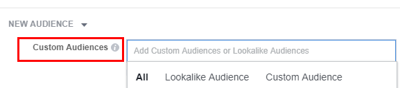 Lookalike и custom audiences