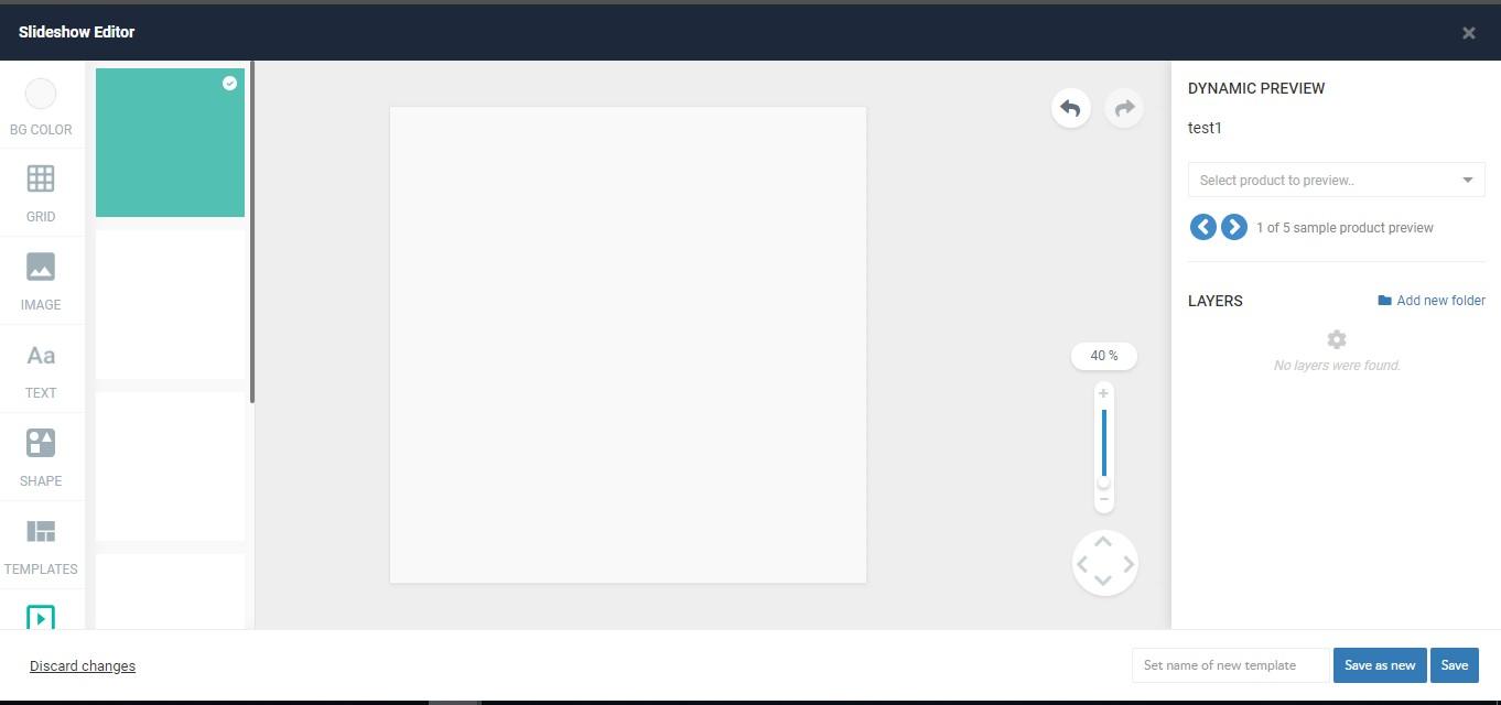 ROI Hunter има инструмент - редактор на динамични шаблони