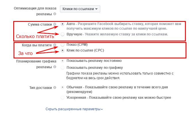 Автоматическая ставка для рекламы приложений в Facebook.