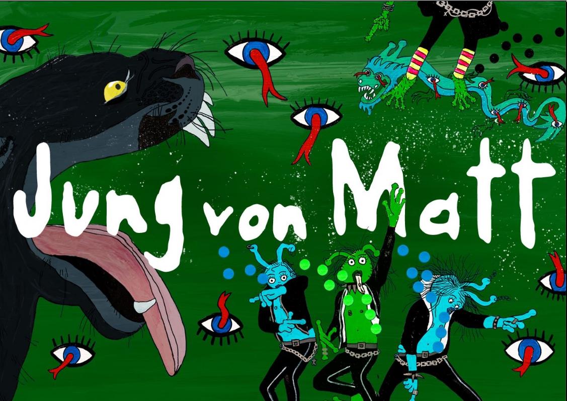 Задания для креаторов от Jung von Matt