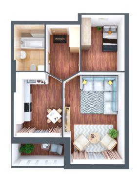 3D планировка квартир