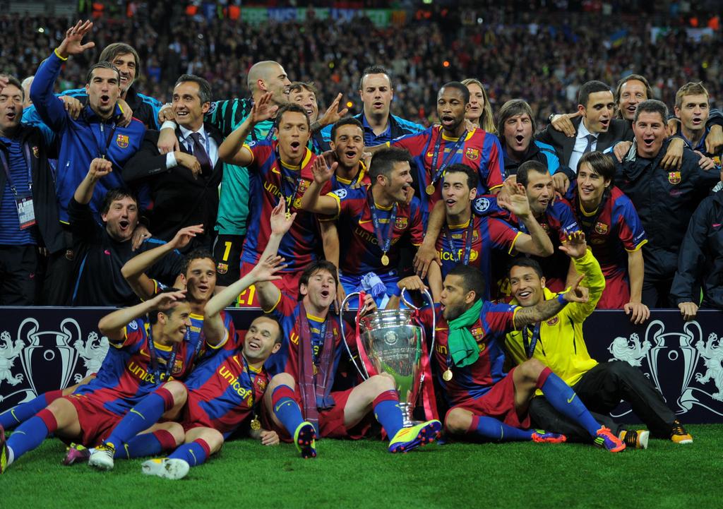Победа Барселоны