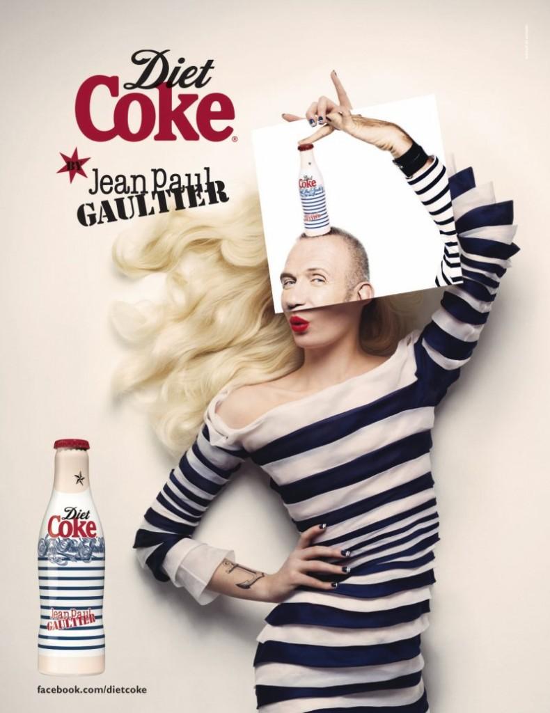 Diet Coke в платье