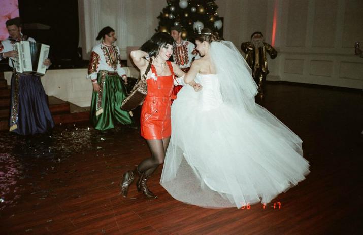танцы с невестой