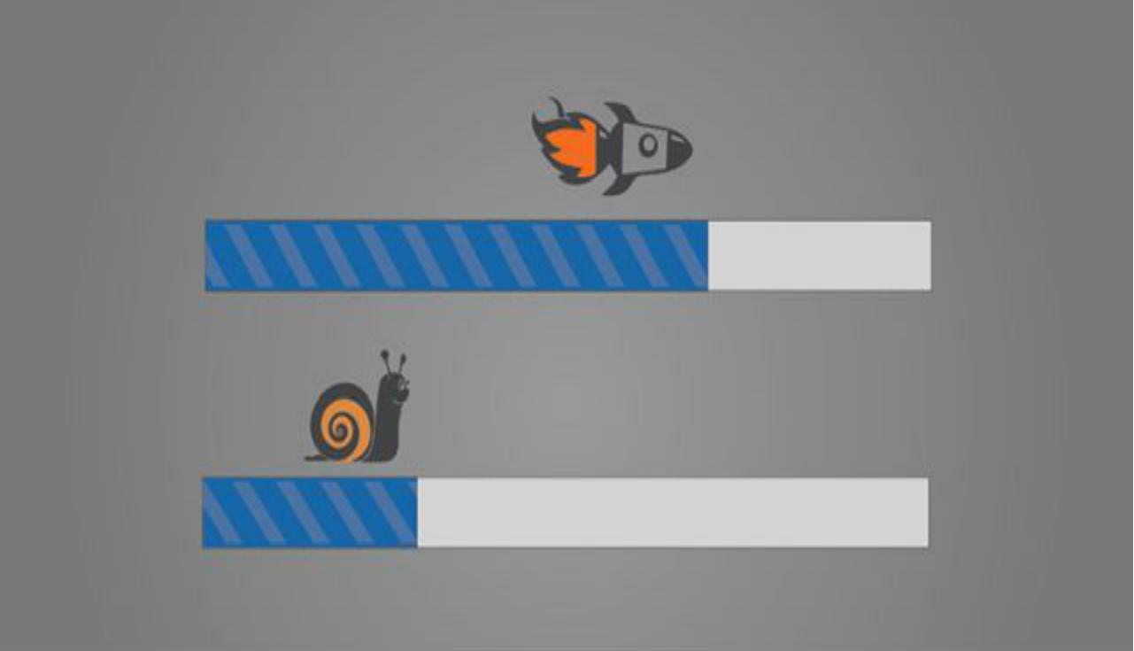 Улитка и ракета наперегонки
