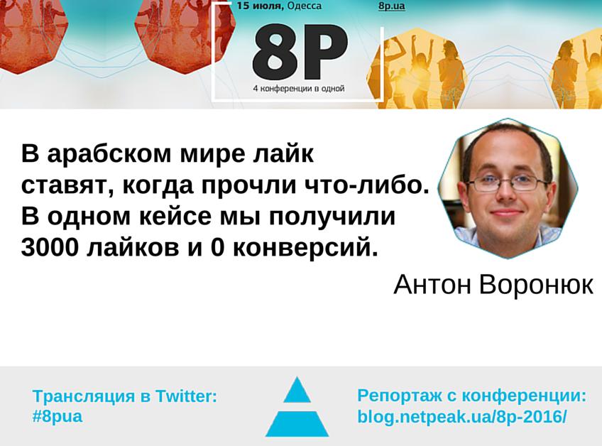Антон Воронюк об особенностях рынков