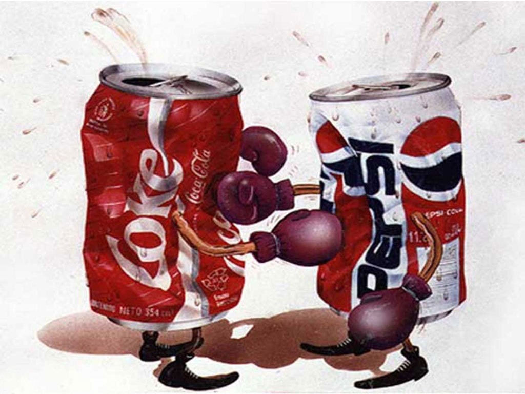 Pepsi или Coca Cola
