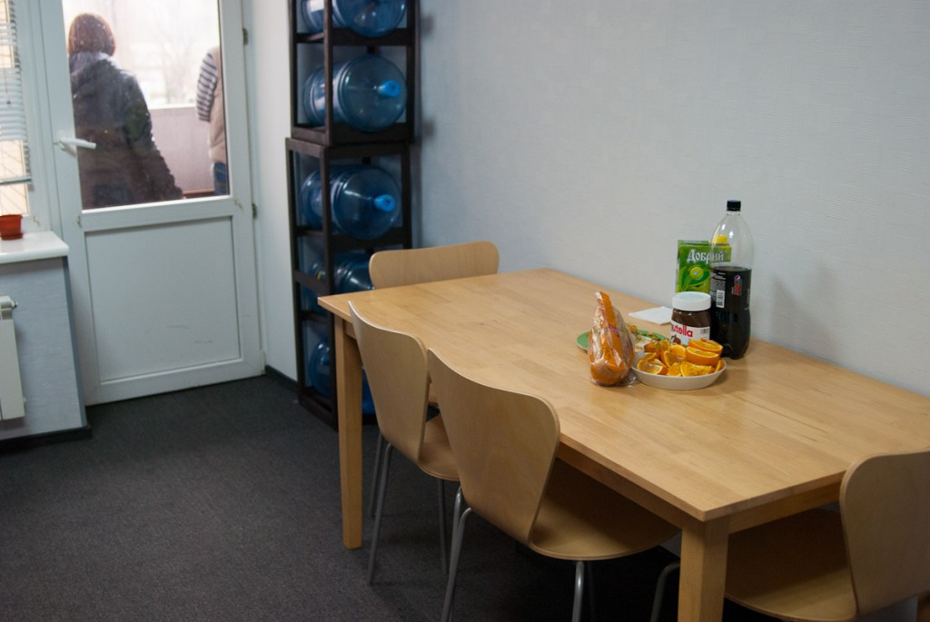 Grape Ukraine офис кухня