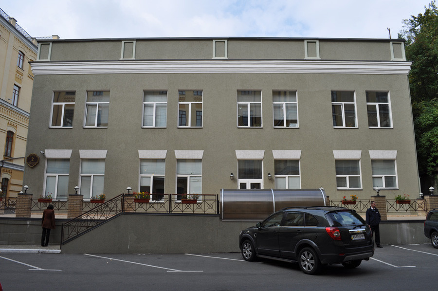 Киевский офис Leo Burnett занимает этаж в особняке
