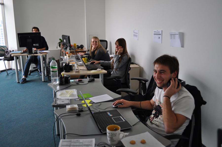 В этом кабинете работают SMM-специалисты и контекстщики