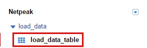Для импорта данных нам остается нажать кнопку «Create table»
