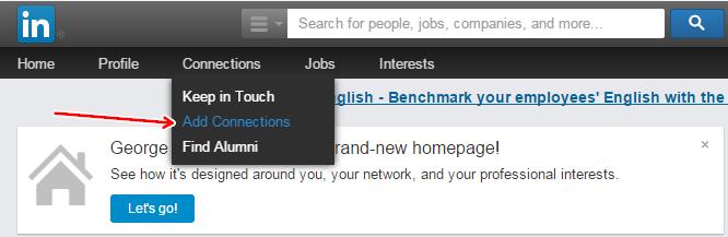 Импортировать контакты из CSV в LinkedIn довольно легкодовольно легко