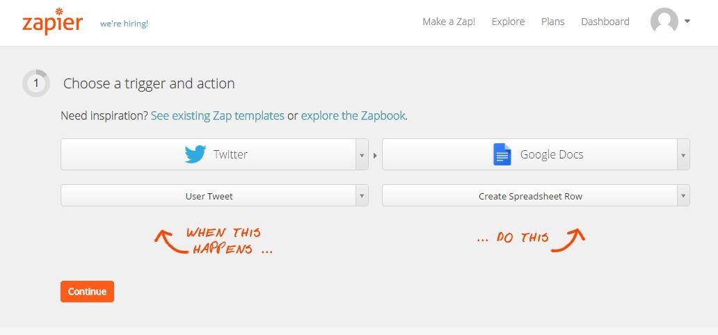 Zapier — полезный сервис для работы с несколькими приложениями одновременно.