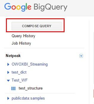 Жмем кнопку «Compose query»