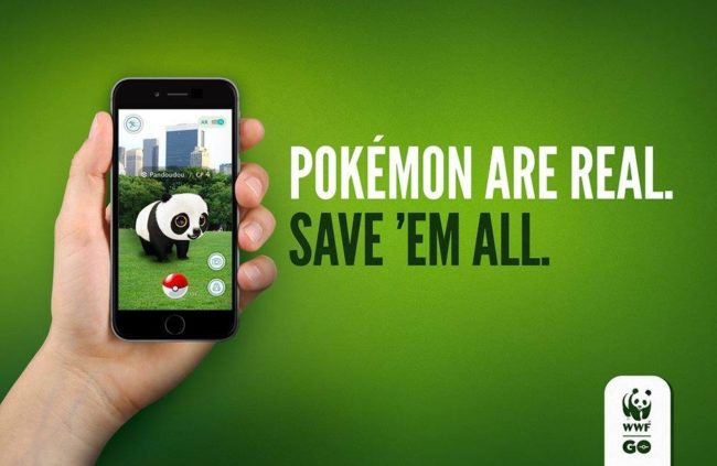 A year ago only the lazy advertiser didnt use pokemons in his banners