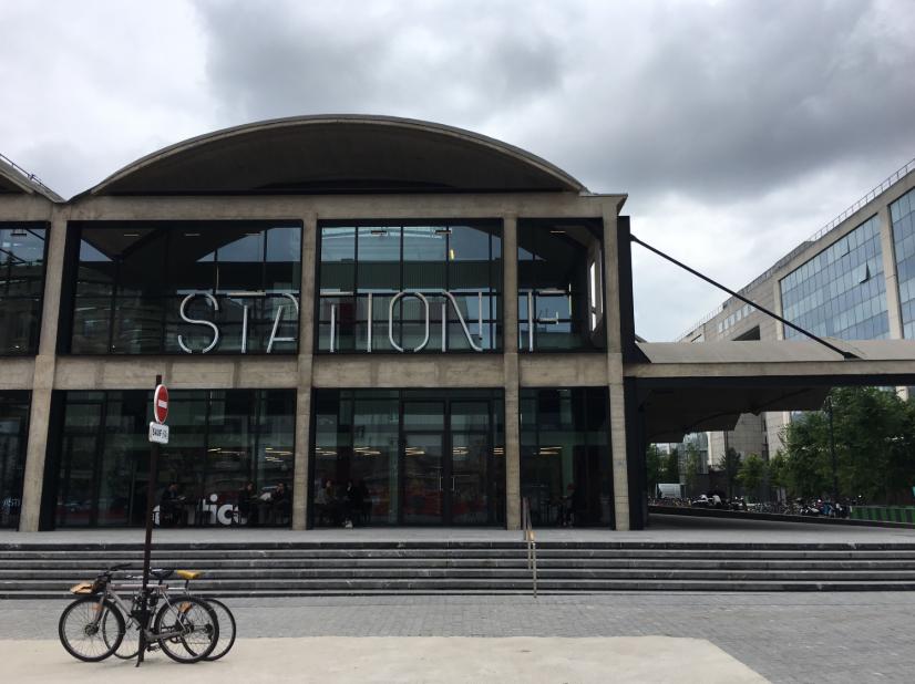 благодаря знакомствам, перед конференцией мне также удалось попасть в Station F