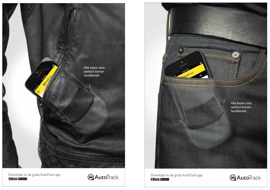 Брутальные и понятные рекламные баннеры, созданные для мужчин