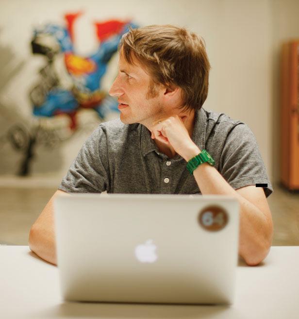 он и его команда анализируют персональные данные пользователей Facebook