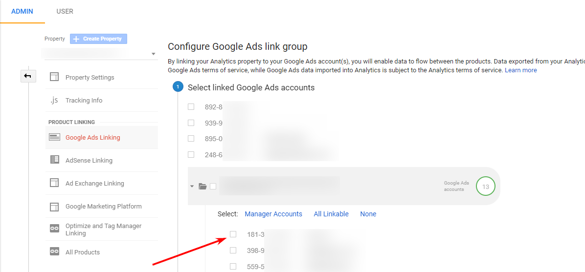 configure-google-ads-linking-groups