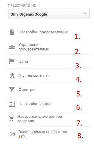 Что еще стоит настроить в аккаунте Google Analytics