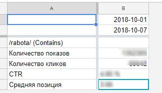 во вкладке Results появятся данные