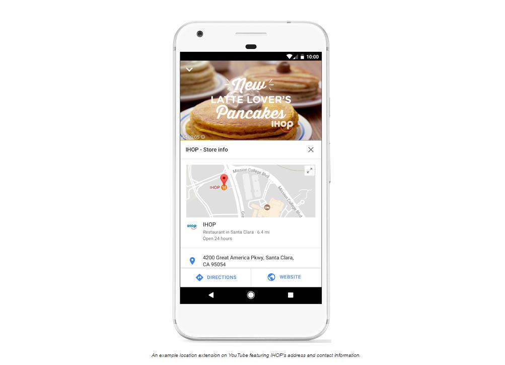 """AdWords представи  пускането на разширението """"Адреси"""" за YouTube реклами"""