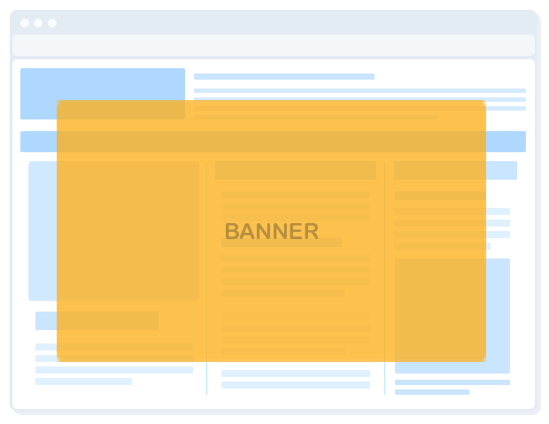 html5 interstitial banner