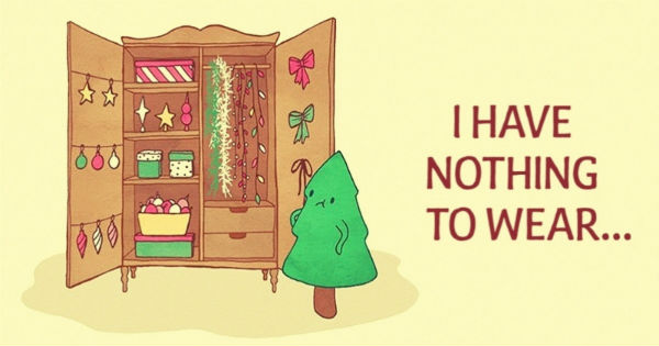 I have nothing to wear Christmas tree 4