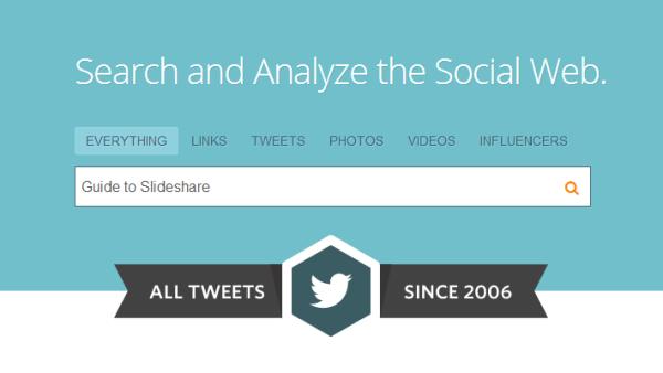 Topsy ищет твиты с 2006 года