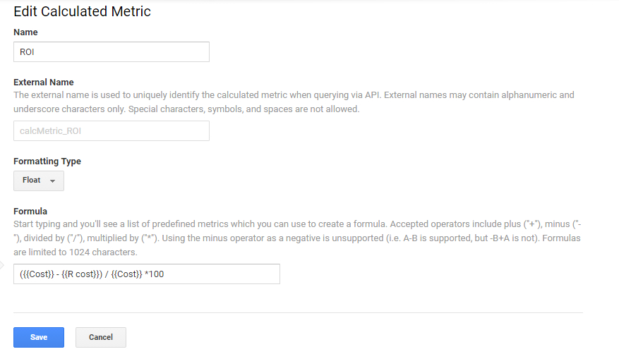 Посочете типа на форматиране  число с плаваща запетая и въведете формула
