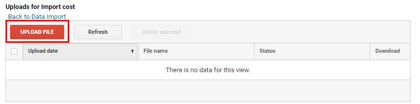 Качване на данни в Google Analytics