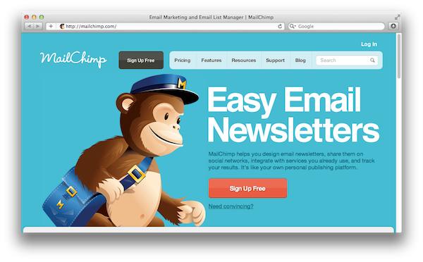 MailChimp е автоматизирана платформа за e-mail маркетинг