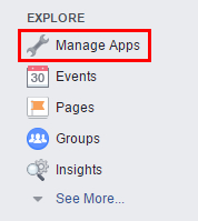 Създайте приложение във Facebook