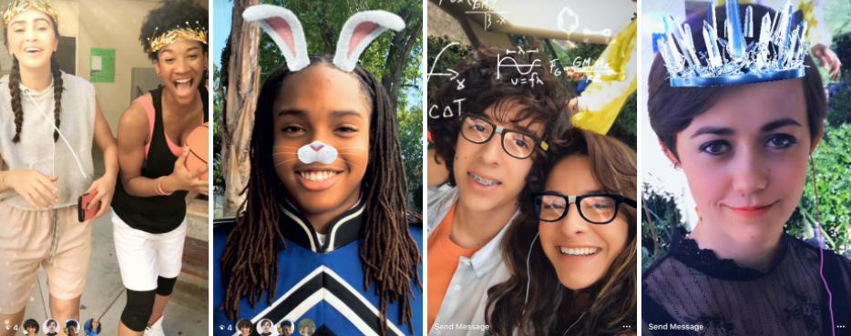 Instagram запустил Face Filters — фильтры-маски для видео