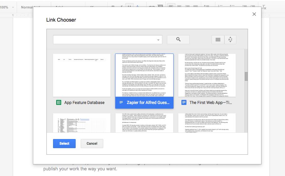 Как быстро переходить на Google Диск из Документов