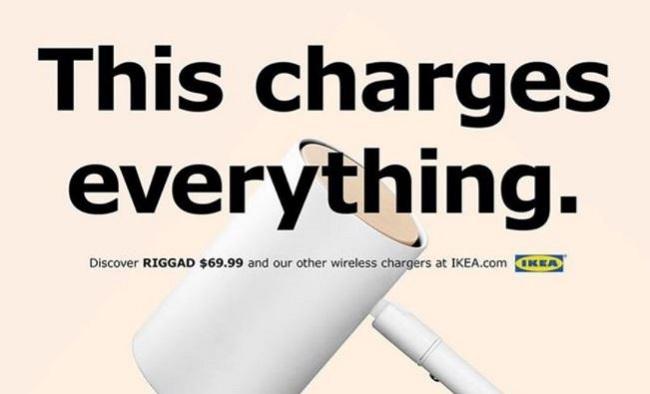 Как Икея троллит Эппл в рекламе
