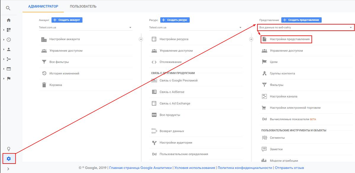 Как настроить поиск по сайту в Google Analytics