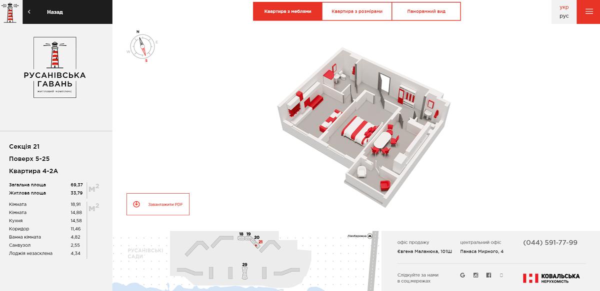 Как правильно рекламировать квартиры ЖК Русановская Гавань