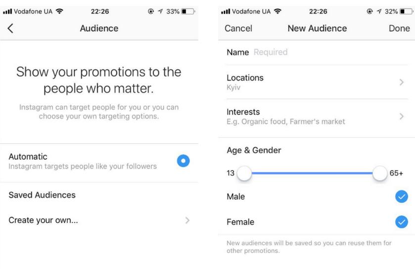 Как правильно рекламировать посты в инстаграме