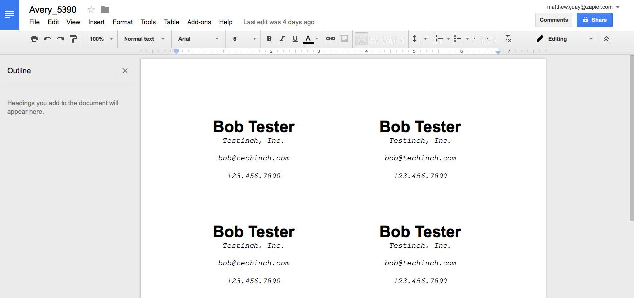 Как сделать бейдж в Google Документах